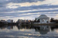 Washington DC Winter Morning Cityscape Royalty Free Stock Image
