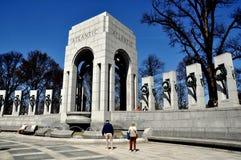 Washington, DC: World War II Memorial stock photo