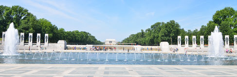 Washington DC, World War II Memorial royalty free stock image
