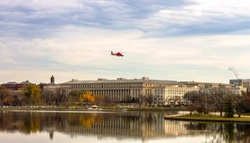 Washington DCbyrå av gravyr & printing arkivfoto