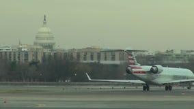 Washington DCflygplatser, Kapitoliumbyggnad stock video