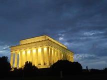 Washington DCmonument bij nacht Royalty-vrije Stock Foto