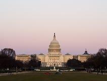 Washington, de Gebouwen van het Capitool van gelijkstroom Royalty-vrije Stock Afbeeldingen
