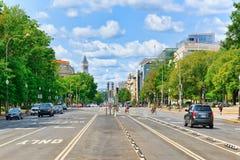 Washington, de V.S., stedelijke cityscape van de stad Het Ave NW van Pennsylvania stock foto's