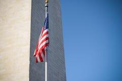 WASHINGTON-DENKMAL Stockbild