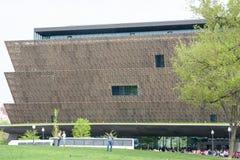 WASHINGTON DISTRICT OF COLUMBIA - APRIL 14: Smithsonian nationellt museum av afrikansk amerikanhistoria på April 14, 2017 Arkivbilder