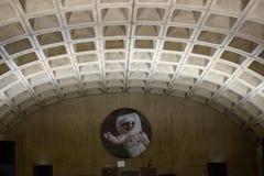 WASHINGTON, DISTRICT DE COLUMBIA - 14 AVRIL : Station de métro de métro de Washington DC le 14 avril 2017 photos libres de droits