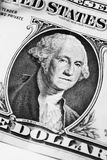 Washington on dollar Stock Photos