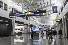 Washington Dulles International Airport stockfotos