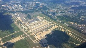 Washington Dulles International Airport Image libre de droits