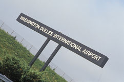 Washington Dulles International Airport, Washington, DC Royalty Free Stock Image