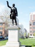 Washington Edmund Burke Statue 2010 Stock Photos
