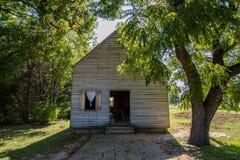 Washington en el sitio histórico del estado de Brazos en Washington, Texa Foto de archivo libre de regalías