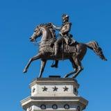 Washington Equestrian Monument Royalty-vrije Stock Foto's