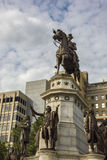 Washington Equestrian Monument Photos stock