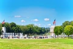 Washington, Etats-Unis, Lincoln Memorial, U S Mémorial et OE nationaux photo stock