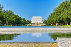 Washington, Etats-Unis, Lincoln Memorial, U S Mémorial et OE nationaux photographie stock libre de droits