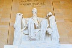 Washington, Etats-Unis, monument pour Abraham Lincoln photographie stock libre de droits