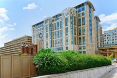 Washington, EUA, registro da divisão da Vontade-homologação de testamento 515 5o St nanowatt Foto de Stock Royalty Free