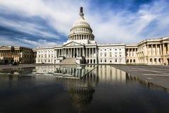 Washington för arkitektur för US-Capitol Neoclassical DC Arkivfoto