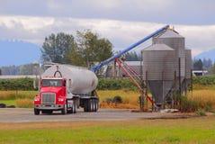 Washington Farm Feed Imagen de archivo