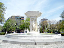 Washington fountain on Dupont Circle 2010 Royalty Free Stock Image
