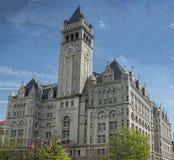 Washington gammal stolpe - kontor Arkivfoto