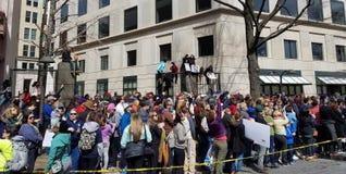 WASHINGTON, GELIJKSTROOM, DE V.S. - 24 MAART, 2018: Maart voor Ons Leven protes Royalty-vrije Stock Foto