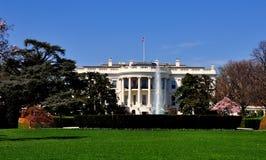 Washington, gelijkstroom: Het Witte Huis Royalty-vrije Stock Afbeeldingen