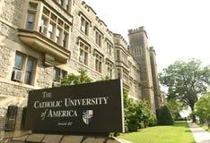 Washington, gelijkstroom - 01 Juni, 2018: Katholieke Universiteit van Amerika royalty-vrije stock afbeelding