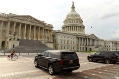 Washington, gelijkstroom - 31 Mei, 2018: Zwarte auto's voor Verenigde Sta Stock Afbeelding