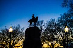 Washington, gelijkstroom-Nacht Royalty-vrije Stock Afbeelding