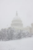Washington, Gleichstrom-Blizzard Stockbild