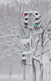 Washington, Gleichstrom-Blizzard Lizenzfreies Stockfoto