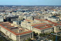 Washington, Gleichstrom C Hauptstadt der Vereinigten Staaten von Amerika Lizenzfreies Stockfoto
