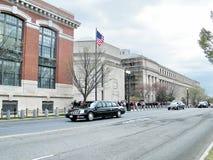 Washington government cortege 2011. Government cortege on a street of  Washington DC, USA Royalty Free Stock Photos