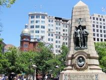 Washington Grand Army do monumento 2013 da república Foto de Stock