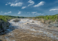 Washington Great Falls view landscape Royalty Free Stock Photography