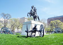 Washington Lafayette Park Andrew Jackson Memorial 2010 Royalty Free Stock Photos