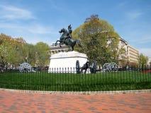 Washington Lafayette Park Jackson Memorial 2010 Stock Image