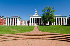 Washington and Lee University in Lexington, VA Stock Photo