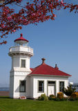 Washington Lighthouse Mukilteo Coast Beacon Stock Photo