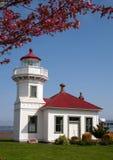 Washington Lighthouse Mukilteo Coast Beacon Stock Photo