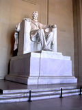 Washington Lincoln Statue October 2004 Arkivbilder