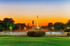 Washington, los E.E.U.U., Washington Monument es un obelisco en la nación foto de archivo libre de regalías