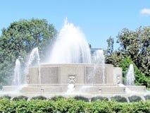 Washington The Lower Senate Park Fountain 2013 Royalty Free Stock Images