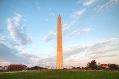 Washington Memorial monument i Washington, DC Fotografering för Bildbyråer