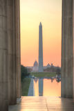 Washington Memorial monument i Washington, DC Royaltyfri Fotografi