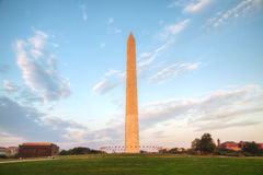 Washington Memorial monument in Washington, DC Stock Image
