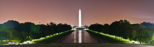 Washington Memorial in Washington DC Stock Images